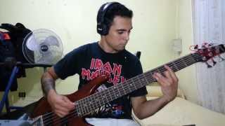 IRON MAIDEN - Out Of The Silent Planet. Bass Cover by Samael.