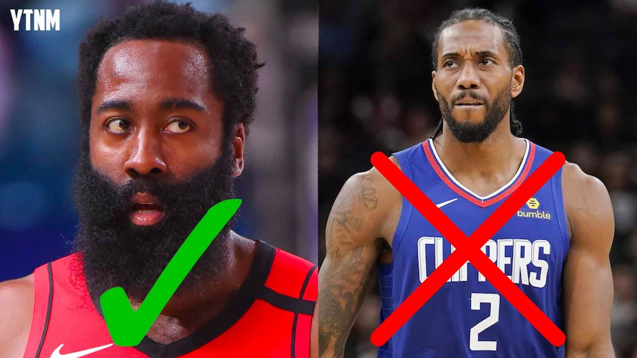 James Harden Is Better Than Kawhi Leonard... And It's NOT EVEN CLOSE | Your Take, Not Mine