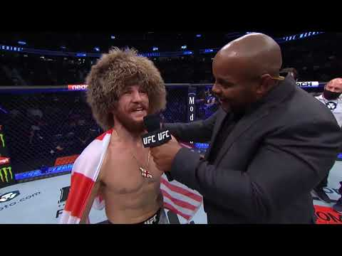 UFC 266: Merab Dvalishvili Octagon Interview