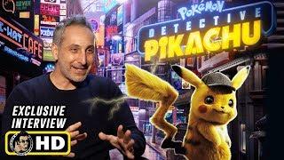 Director Rob Letterman Interview For Pokemon: Detective Pikachu