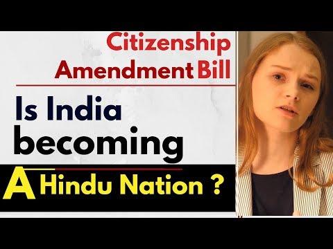 American Media Reactions | Citizenship Amendment Bill | India A Hindu Nation? | Karolina Goswami