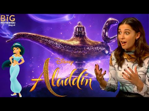 Naomi Scott on her reaction to finding out she was the new Princess Jasmine