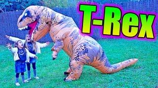SANEUB!! Las ratitas pandilleras la lian con T-Rex!! Por fin montam...