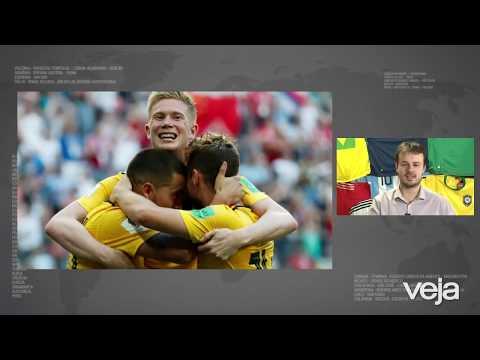 Giro da Copa: Bélgica faz história e fica com o terceiro lugar