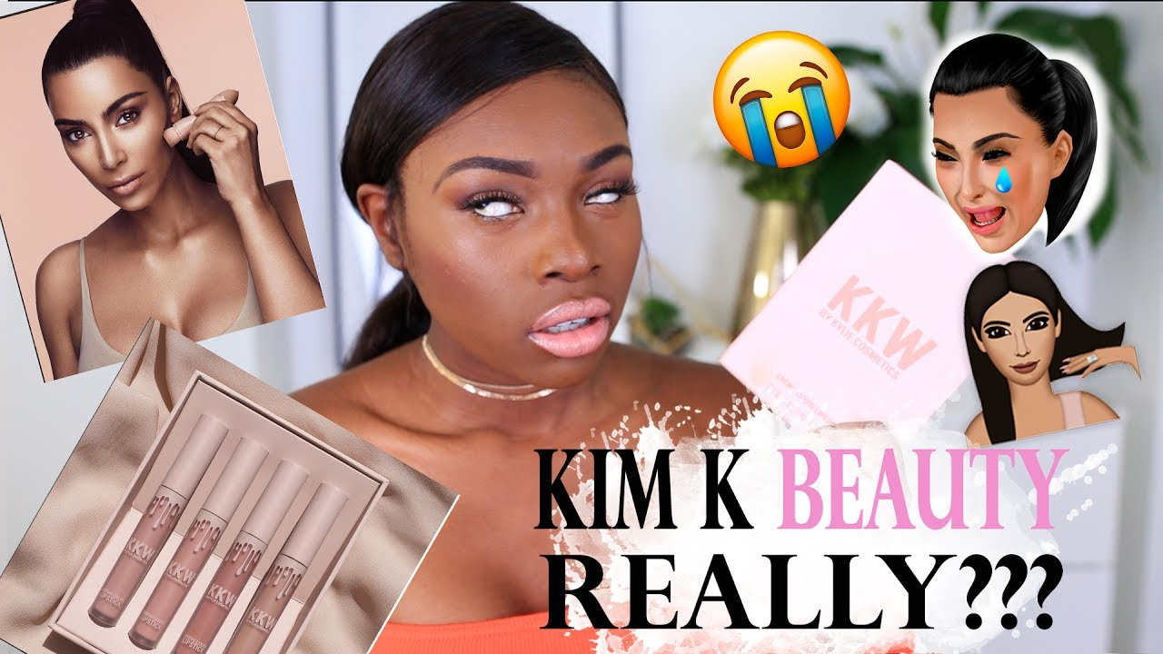 KIM KARDASHIAN BEAUTY   REALLY? A KKW BEAUTY FIRST IMPRESSIONS YOU MIGHT  NOT WANT TO WATCH!