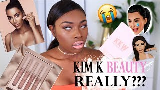 KIM KARDASHIAN BEAUTYREALLY A KKW BEAUTY FIRST IMPRESSIONS YOU MIGHT NOT WANT TO WATCH OK Lovlies today is a beauty review of the new KKW beauty range by Kim Kardashian She released the lip kit via Kylie cosmetics a few weeks ago and how ...