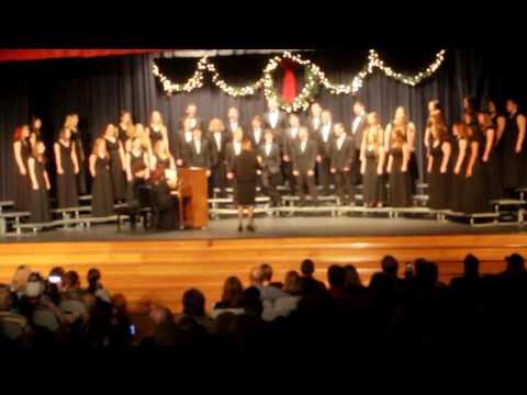 Baxter Springs High School Christmas concert 2015