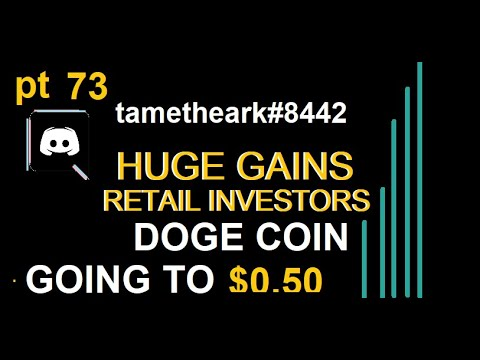 DOGE on the way to 50 CENTS You're not too late!!! #DOGE #BTC #CRYPTO :Rocket: