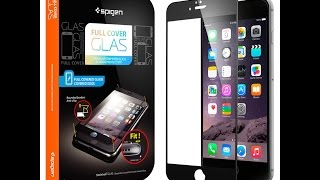 Тестируем стекло Spigen Full Cover Glass для iPhone 6 Plus