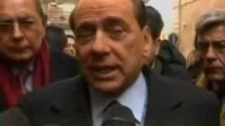 Vergognoso Berlusconi sul problema degli stupri