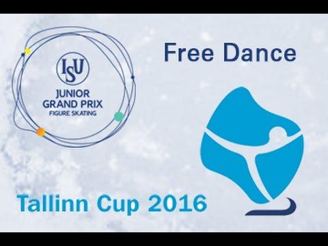 2016 ISU Junior Grand Prix - Tallinn - Free Dance