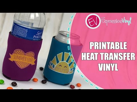 Step by Step instructions for Printable Heat Transfer Vinyl