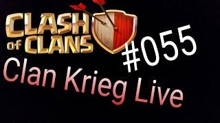 Clash of Clans Deutsch 055 Handy Clan Krieg Live