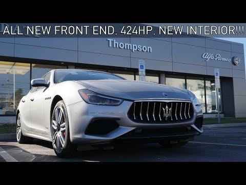2018 Maserati Ghibli GranSport Review & Drive! Beautiful Redesign!
