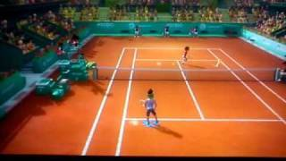 PS3 MOVE RACKET SPORTS DEMO GAMEPLAY PART 1