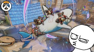 OVERWATCH ► FUNNIES, FAILS & CRAZY MOMENTS #84