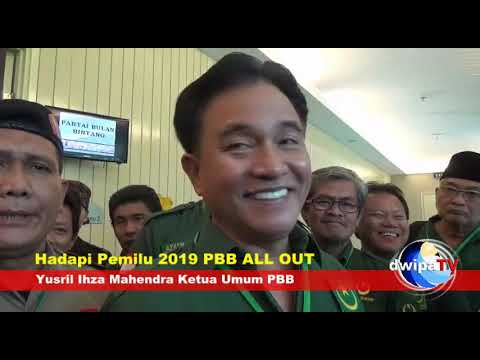 Kumpulkan Caleg DPR, Yusril  All Out Hadapi Pemilu 2019