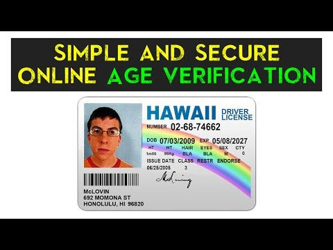 Simple Secure Online And Age - Youtube Verification