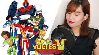 ORIGINAL CREDITS Song : Voltes V no Uta Artist : Mitsuko Horie 堀江 美都子 Anime : Voltes V ▷▷Message Hello 90s baby!! here's my cover of Voltes V No Uta ...