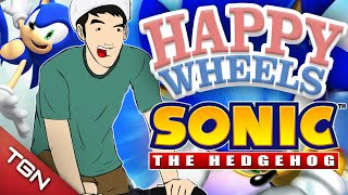 Happy Wheels: SONIC THE HEDGEHOG