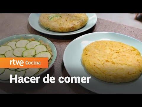 Cómo hacer Tortilla de patatas no tradicionales - Hacer de comer | RTVE Cocina