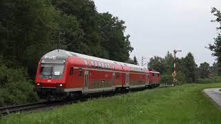 Beinahe-Unfall auf der Natobahn Zug vs. Auto 08.2017