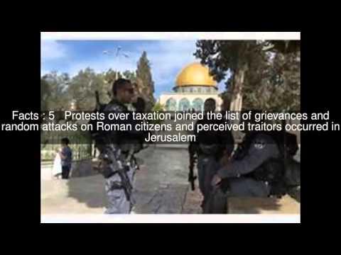 Jerusalem riots of 66 Top  #12 Facts