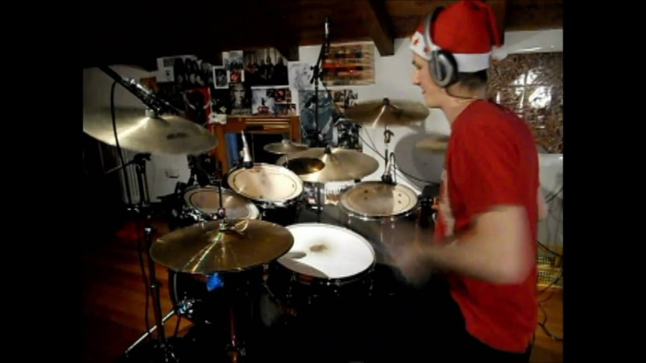 Corey Taylor's Christmas Song - Xm@$ Drum Cover - YouTube