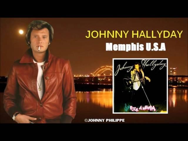 Johnny Hallyday  Memphis  u s a