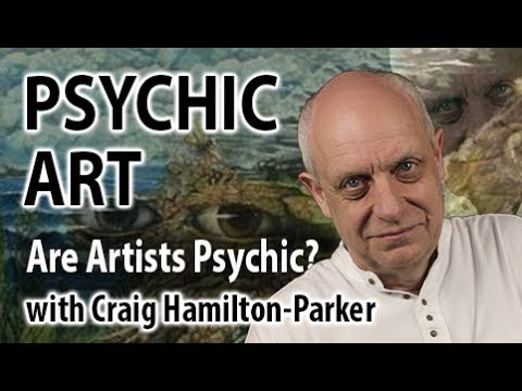 Psychic Art and Artists | How artistic people may also be clairvoyant