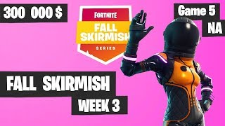 Fortnite Fall Skirmish Week 3 Game 5 NA Highlights (Group 2) - King Pin