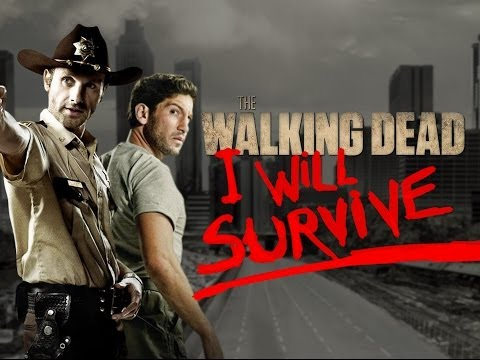 0 Elenco de The Walking Dead canta I Will Survive