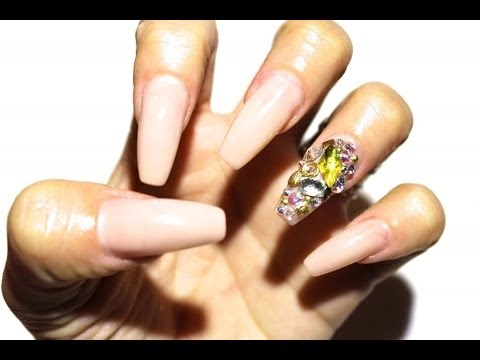 How To Change Your Nail Shape Without Removing Acrylics Youtube