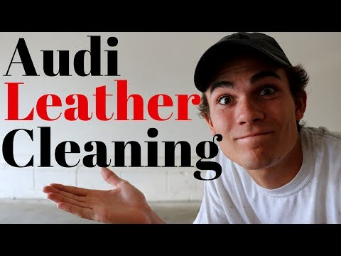 How To Clean Audi Leather Seats