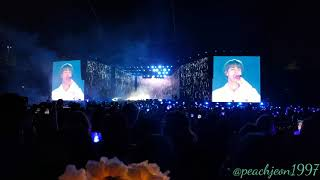[FANCAM] 20190504  BTS Speak Yourself Day-1 at Rosebowl Epiphany by JIN