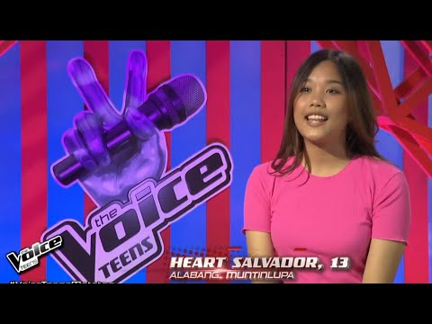 HEART SALVADOR: Someone You Loved | The Voice Teens 2020 Blind Audition