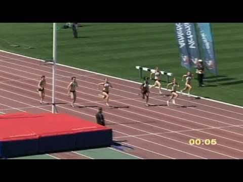 2009 Vic U18 Women 100m