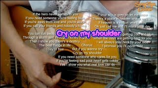 Cry On My Shoulder - Guitar Cover | Song Ngư Guitar