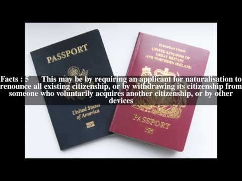 Multiple citizenship Top # 8 Facts