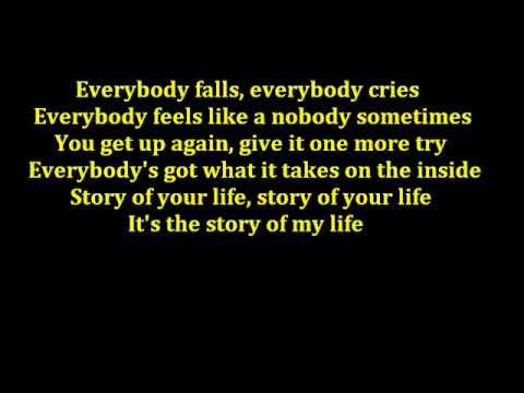 Story Of My Life - Backstreet Boys Lyrics