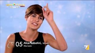 Alice Sabatini: da grande vorrei fare la presentatrice o l