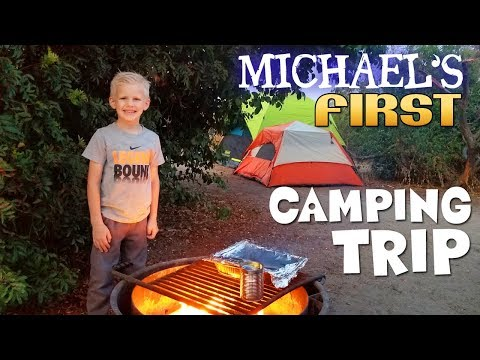 Very First Time Camping!!!