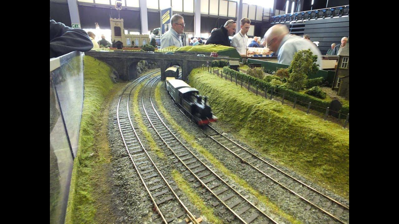 C Amp Dmrc St Michael S Bridge 0 Gauge Model Railway Layout