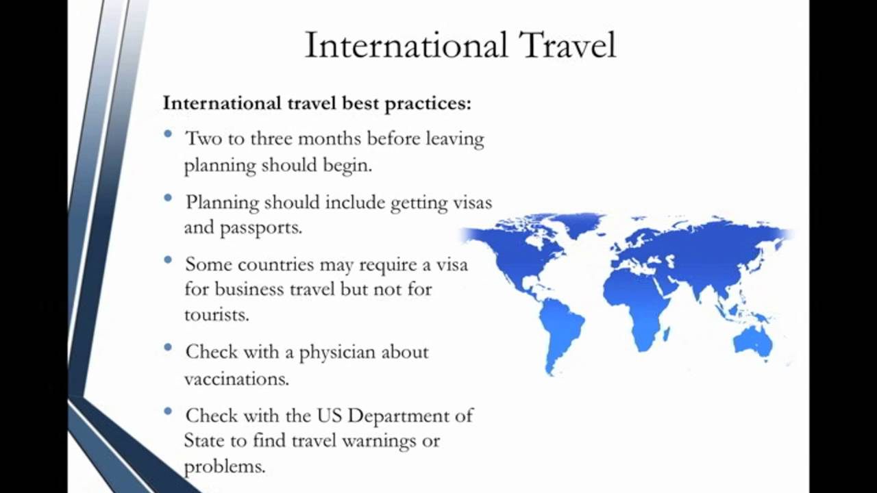 Administrative Assistant Certification Travel Arrangements Youtube