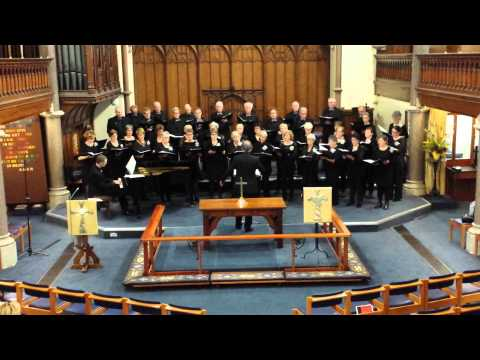 'Le Shaddai' performing in the Wesley Memorial Church - Oxford
