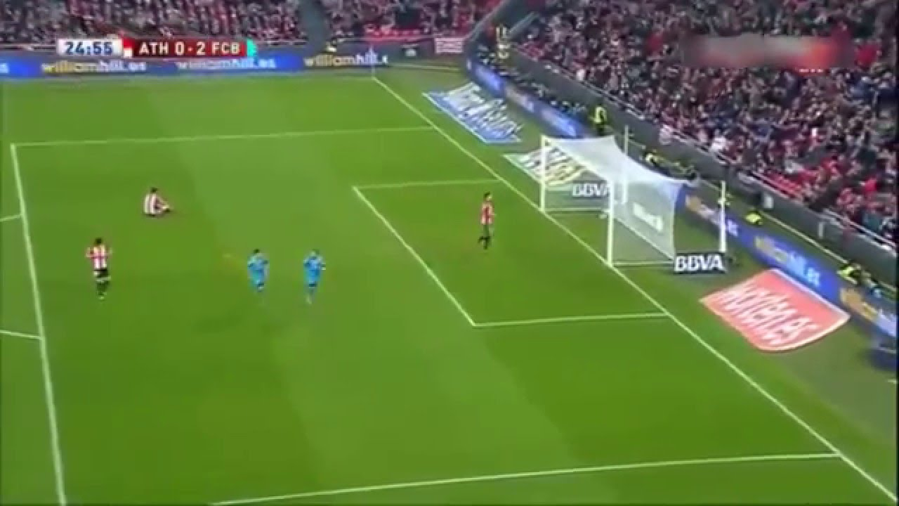 Athletic Bilbao vs Barcelona 0-2 Neymar Goal - YouTube