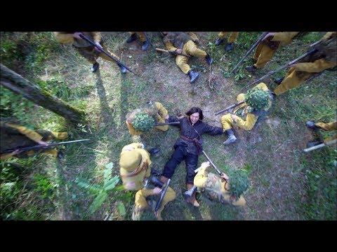 中國獵人強殺一隊日軍,招來日軍少佐兇狠報復,被一群日軍特戰隊強行壓制