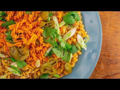 How To Make Beef 'n' Queso Macaroni By Rachael