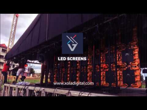 GIANT LED SCREENS FOR ALL PROGRAMMES AND ADVERTISEMENT