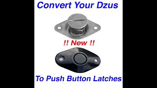 Convert-Dzus-Push Button Latches Install Video